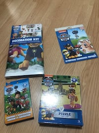 New paw patrol lot except the puzzle