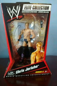 Chris Jericho Signed WWE Figure (2011) Bristow, 20136
