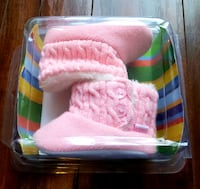 NEW in Box Baby Girl Roby Winter Booties 3-6M Vaughan, L4J 8N2