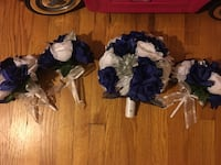 Navy Blue and White Wedding Bouquets Baltimore, 21222