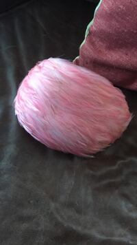Vintage pink feather flapper hat  Falls Church, 22042