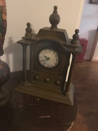 brown wooden framed pendulum clock St Catharines, L2T