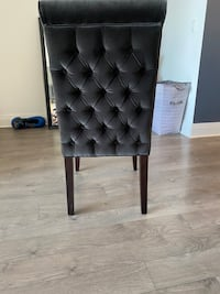 Velvet Quilted Dining Chair