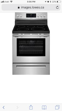 gray and black electric range oven Calgary, T1Y 7J2