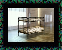 Twin bunkbed frame with mattress Seat Pleasant, 20743