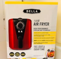 Brand new Bella air fryer 1.6-Qt  smaller size  (pick up only)