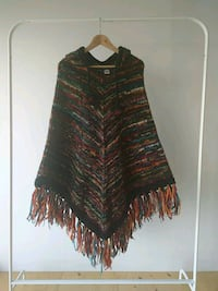 Wool poncho Montreal, H2T 1X3