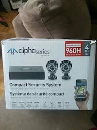 black Alpha Series by Swann compact Security Syste Toronto, M1G 1P7