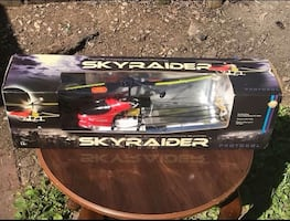 NEW Skyraider 2 Channel Radio Controlled Helicopter