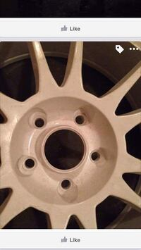 """New 19"""" rims 5 of them and a tire"""