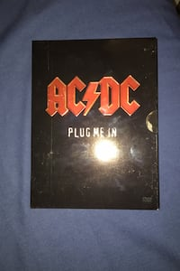 AC/DC Plug me in DVD set two disk