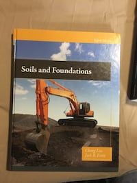 Soils and Foundations by Cheng Liu book London, N5V