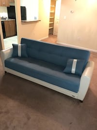 white and blue fabric sofa Suitland, 20746