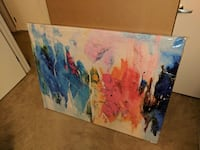 abstract painting wall decor San Diego, 92103