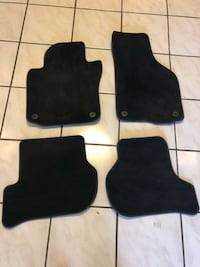 Mk6 Vw gti floor mats - black  Fairfax, 22033