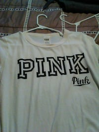 white Pink by VS crew-neck shirt