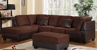 Sectional Set with Ottoman Toronto, M9W 3W6