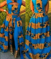 Two piece African Print outfit Washington, 20019