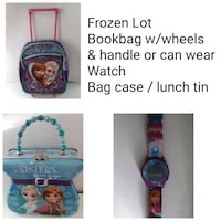 Frozen elsa anna school lot! Book bag lunch tin wa Wrightsville, 17368