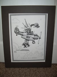 """Matteson Print - """"A Good Pilot Can Fly Anything """" Airplane Theme"""