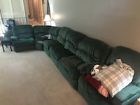 Sectional with recliner Waldorf, 20601