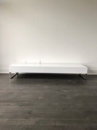 Table base pour tv Blanche Montreal