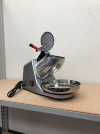 New $50 Ice Shaver 143lbs Snow Cone Maker Machine Crusher Shaving Summer Cool South El Monte