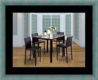 Counter height table with 4 chairs Alexandria, 22306