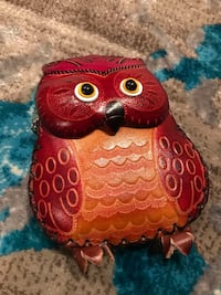 red and brown owl figurine Alexandria, 22315