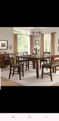 Brand new 5 PC set table and 4 side chairs Hayward, 94541