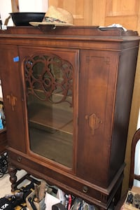 Antique China Cabinet  White Hall, 21161