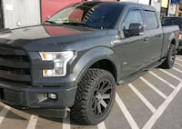 Nitto tires with Black Rhino 22 inch rims all 4