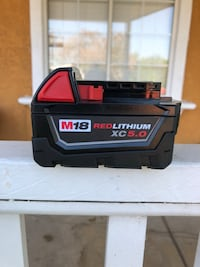Milwaukee Red Lithium 5.0 Battery  Los Angeles, 90033