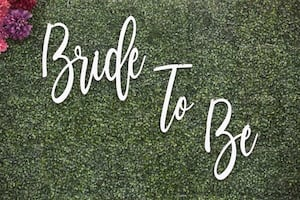 Bride To Be wooden sign
