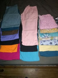 Women's scrubs lot