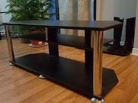black and brown wooden TV stand Barrie, L4N 5A4