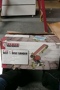 """Central machinery 4""""×36"""" belt &6""""disc sander. Brand new never out box Knoxville"""