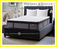 Stearns & Foster bed Trinity