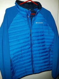 COLUMBIA 650 DOWN HYBRID JACKET MENS SIZE LRG Barrie, L4N