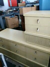 Chest with night stand