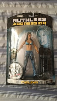 Ruthless aggression action figure