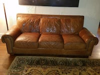 Leather Couch  ASHBURN