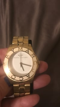 Gold  and white watch by Marc Jacobs! Laurel, 20707