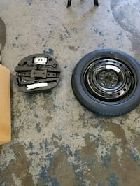 Spare tire and jack sets