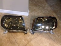 two black car headlights with box Fort Myers, 33905