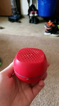 red and black portable speaker Crookston, 56716