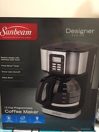 Brand New Sunbeam Coffee Maker (Designer Series) North Vancouver, V7L 1B5