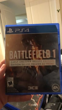 Battlefield hardline ps4 game case Central Okanagan, V4T 2Z6