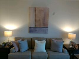 Pier1 Oversized Abstract Canvas Art