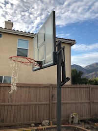 black and gray basketball hoop Temescal, 92883